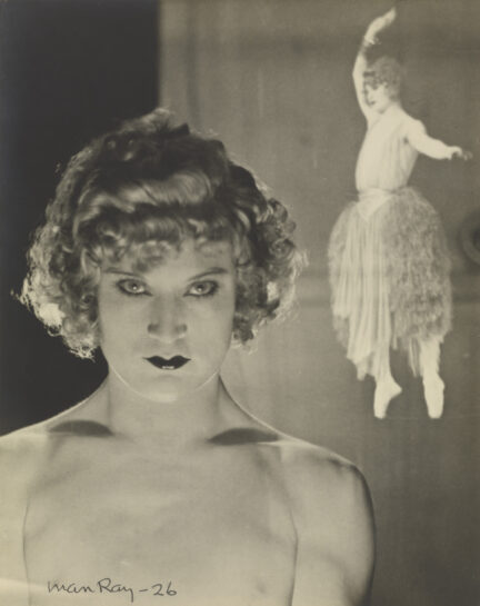 Barbette (Double Exposure), 1926 by Man Ray. The J Paul Getty Museum © Man Ray Trust