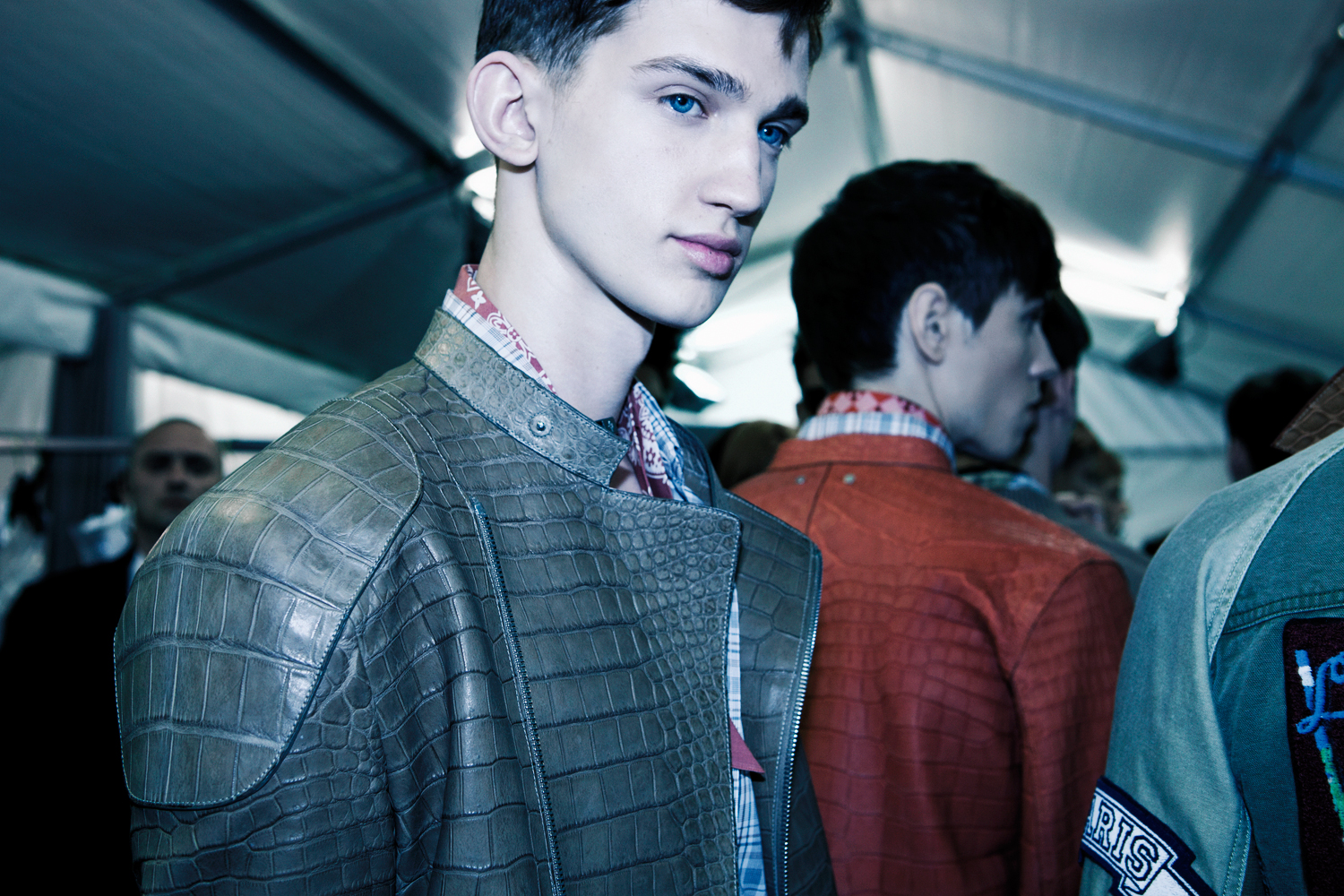 HERO MAGAZINE SS14 3.1 LOUIS VUITTON BACKSTAGE Alexandre Sallé de Chou IMG_7165