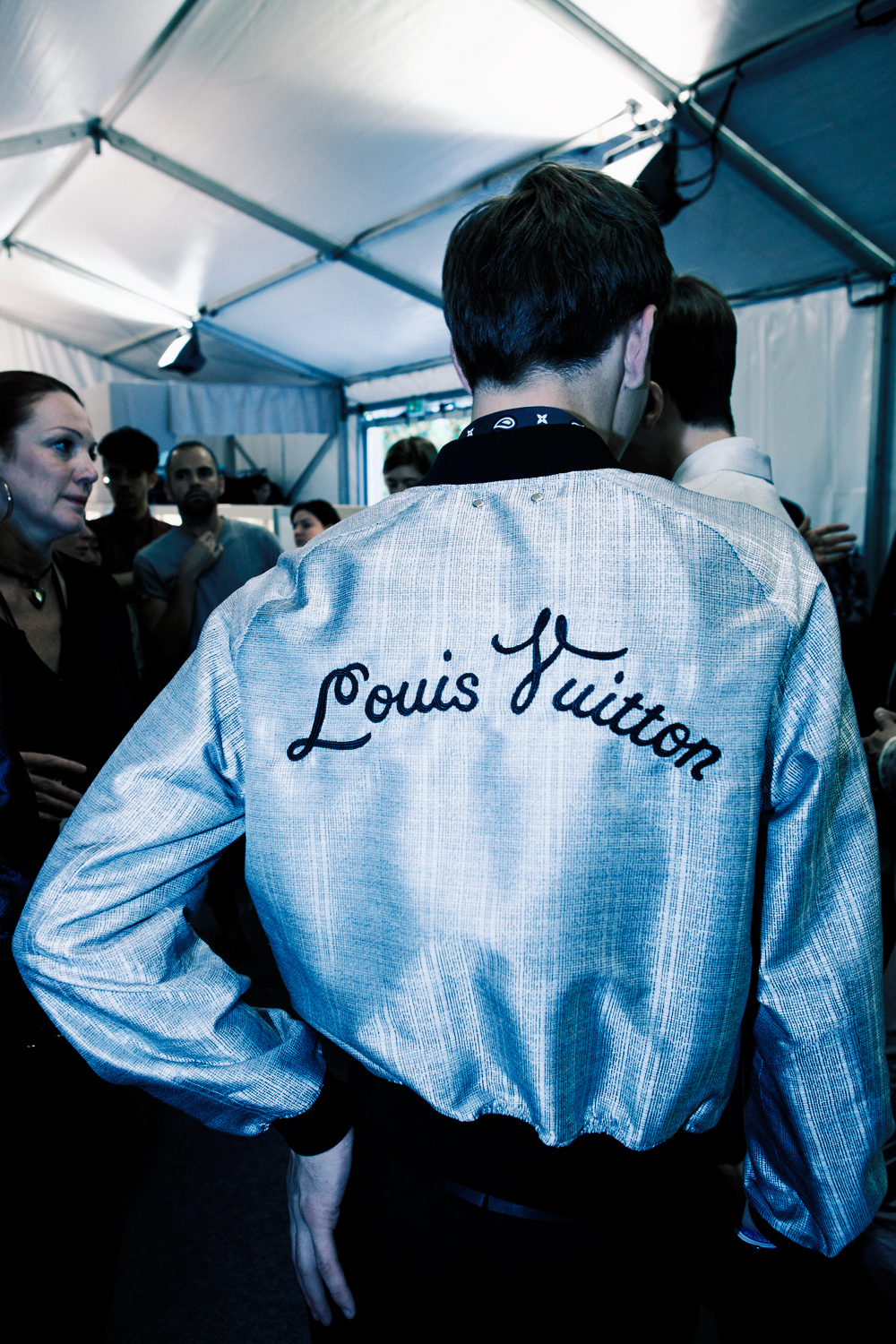 HERO MAGAZINE SS14 3.1 LOUIS VUITTON BACKSTAGE Alexandre Sallé de Chou IMG_7181