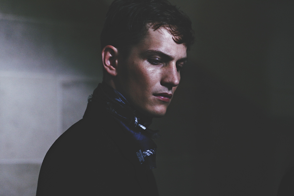 HERO MAGAZINE SS14 Cerruti BACKSTAGE HARRY CARR  IMG_5810