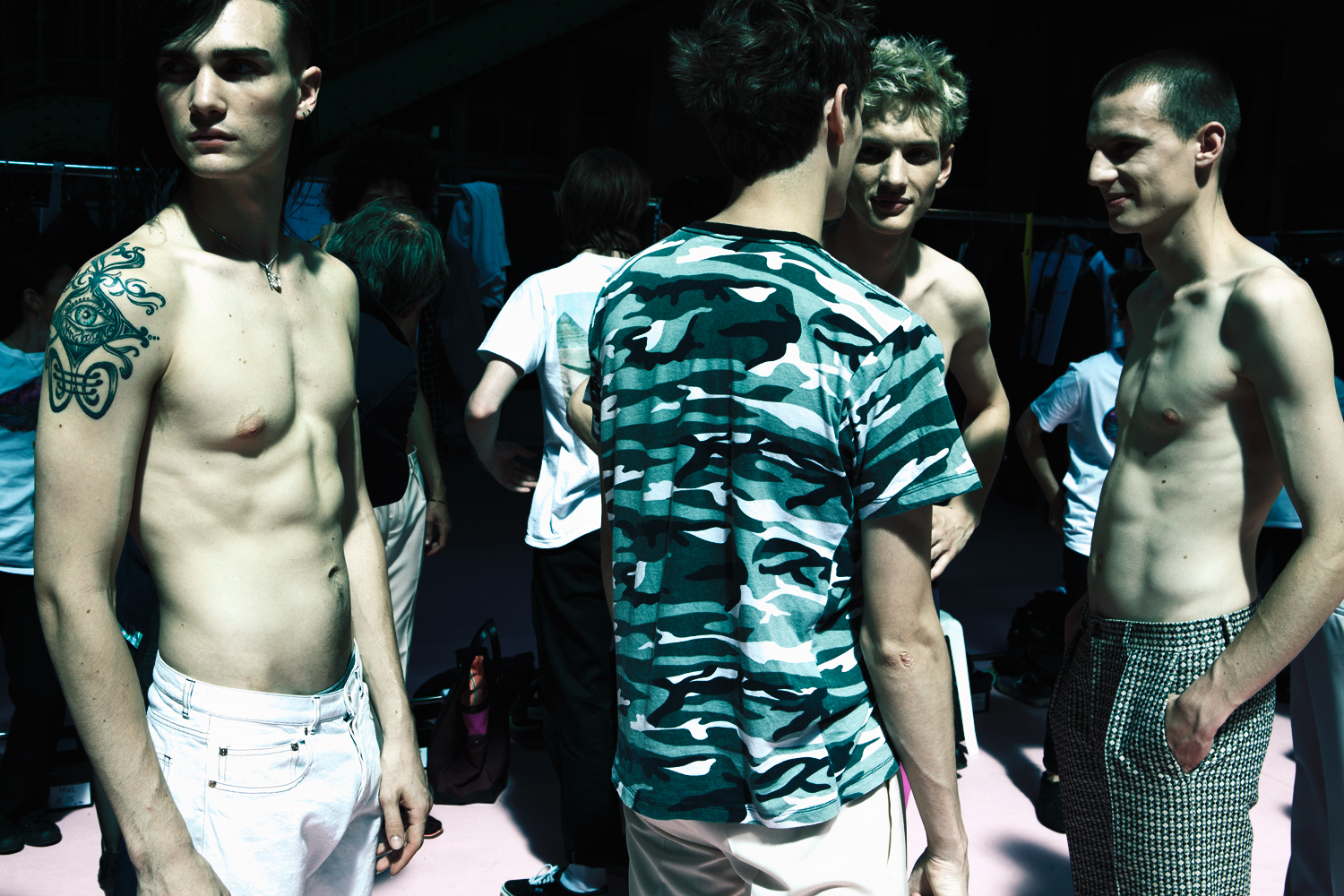 HERO MAGAZINE SS14 PAUL SMITH BACKSTAGE Alexandre Sallé de Chou IMG_8655