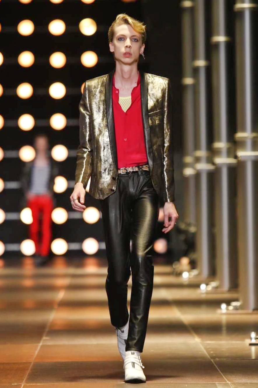 Saint Laurent, menswear, Spring Summer,2014, Paris