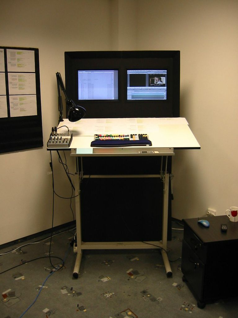 The editing system used for Cold Mountain