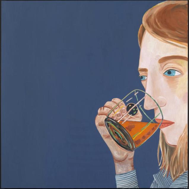 Vanishing Point, 2013. Oil on Canvas, Courtesy of Corvi-Mora, London