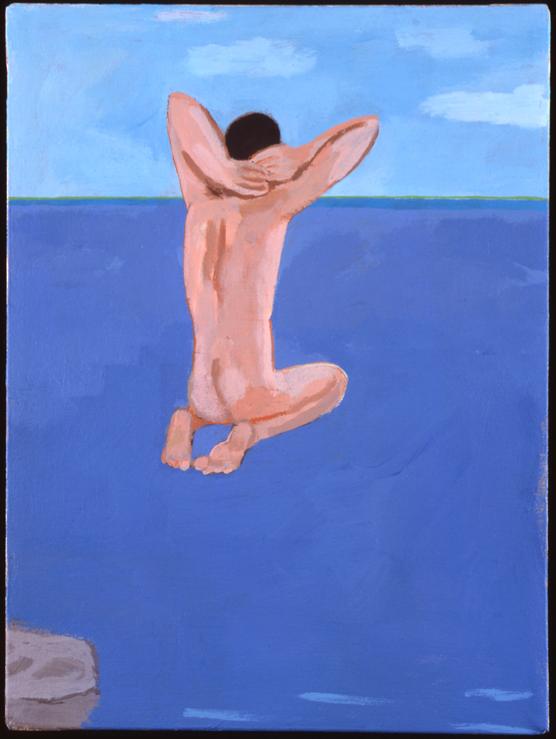 Jumper, 2003. Acrylic on Canvas, Courtesy of Corvi-Mora, London