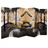 HERO CONSUME PAIR OF ART DECO LACQUER SCREENS