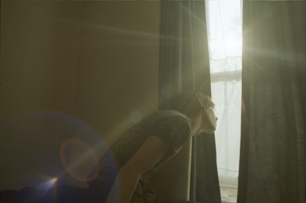 Corinne Day, George looking out the window 1995, 2013, c-type print on aluminium
