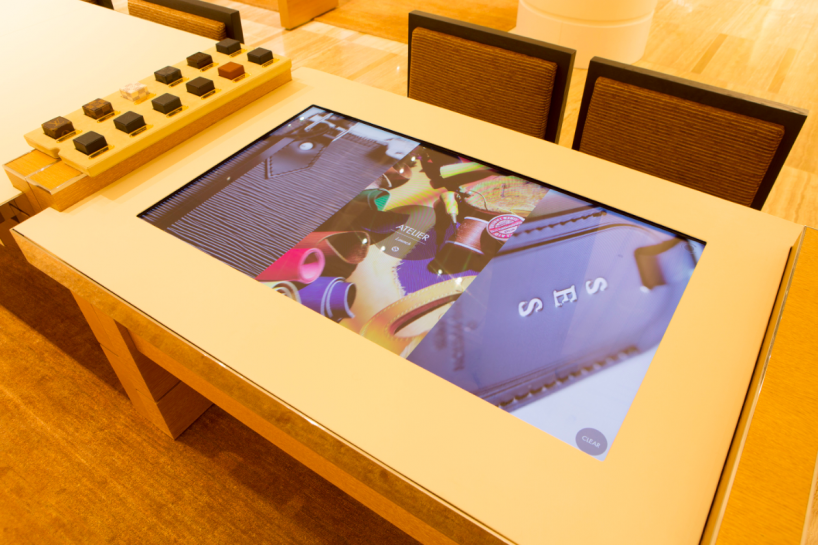 Louis Vuitton's Townhouse at Selfridges,  In-store Digital Atelier