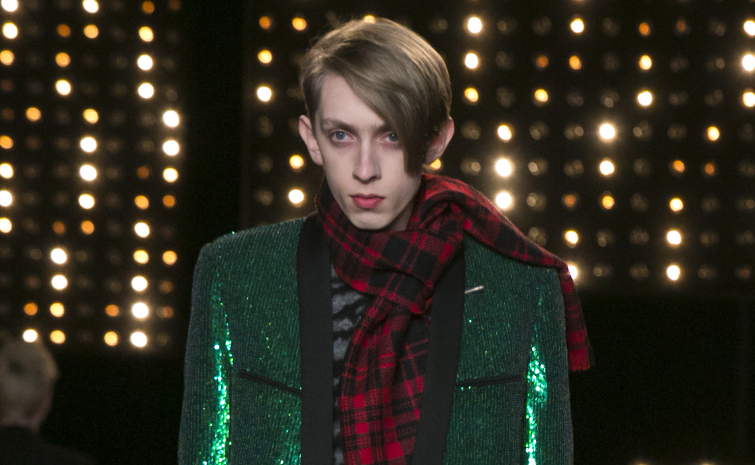 Saint Laurent, Fashion Show in Paris, Menswear Collection, Fall Winter 2014