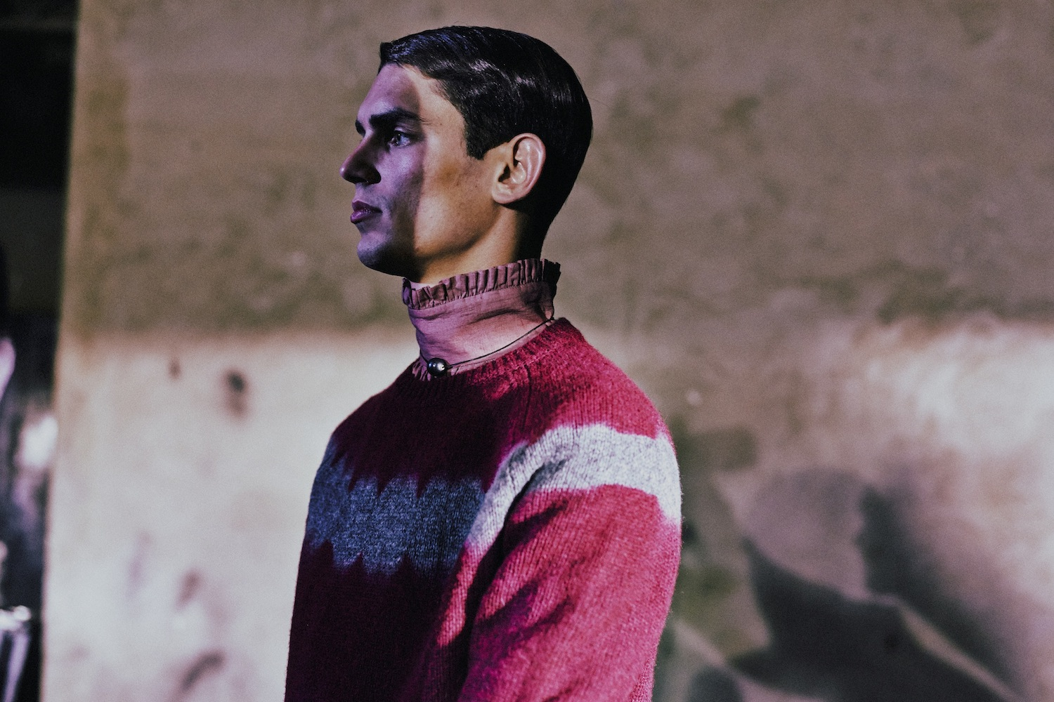 8 LCM AW14 HERO MAGAZINE 3.1 DRIES VAN NOTEN BACKSTAGE HARRY CARR FW14  Look
