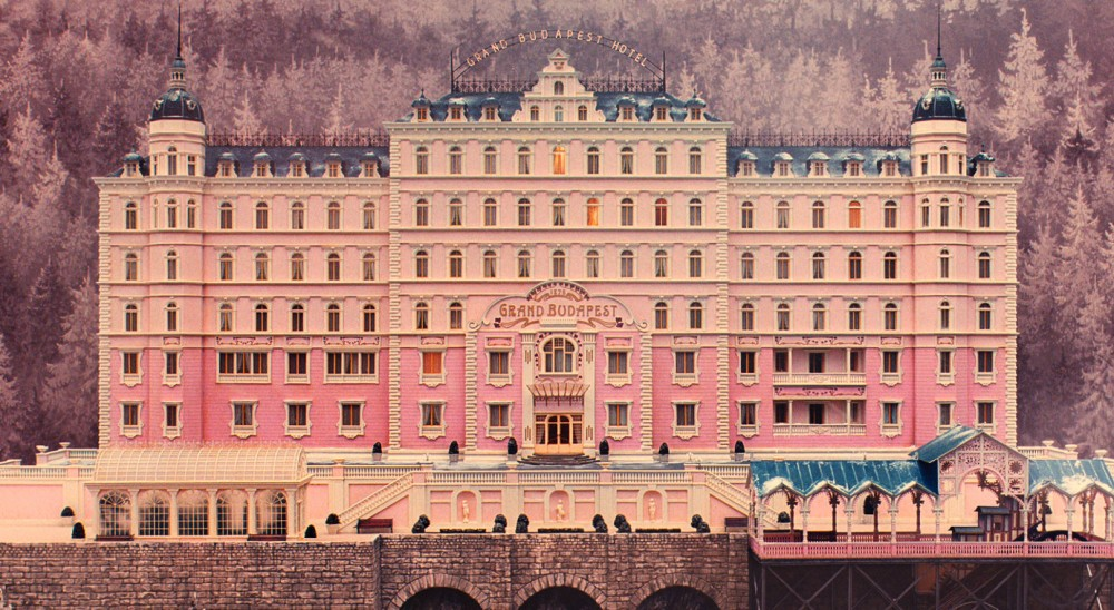 Set from Wes Anderson's The Grand Budapest Hotel (2014), Photo by Martin Scali HERO MAGAZINE WEEKEND GUIDE