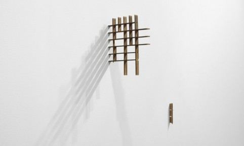 Fernanda Gomes Untitled, 2013 Wood, nails
