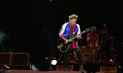 Keith Richards in Saint Laurent – Blood Luster