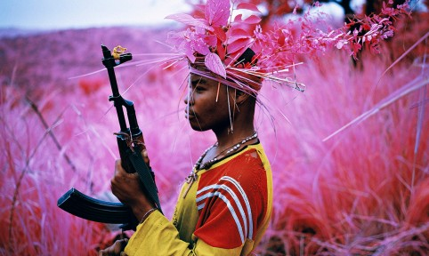Richard Mosse 'Safe From Harm, North Kivu, eastern Congo', 2012 © Richard Mosse, courtesy of the artist and Jack Shainman Gallery