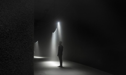 'Momentum', United Visual Artists at The Curve. Photography Bethany Clarke, Getty Images