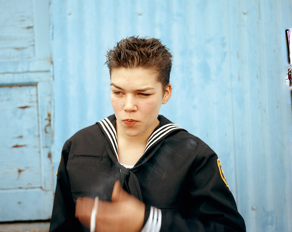 'Smoke' 1998, © Collier Schorr, 2014, courtesy MACK / www.mackbooks.co.uk