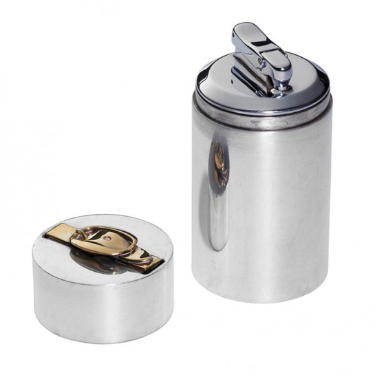 HERO CONSUME HERMES SOLID SILVER TABLE LIGHTER