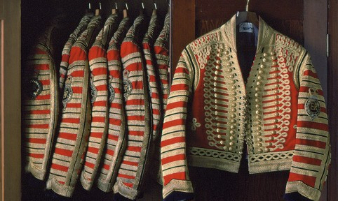 Full State Postilion jackets,The Royal Collection © 2009 Her Majesty Queen Elizabeth II