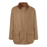 HERO CONSUME HOLLAND AND HOLLAND SIGNATURE TWEED FIELD COAT