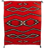 HERO CONSUME NAVAJO CHILDS WEARING BLANKET (C19th)