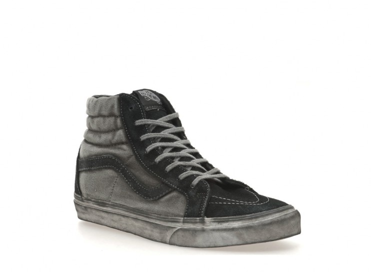 HERO CONSUME VANS SK8-HI REISSUE CA IN OVERWASHED BLACK