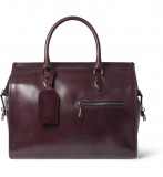 HERO CONSUME BERLUTI 48-HOUR VENEZIA LEATHER HOLDALL BAG