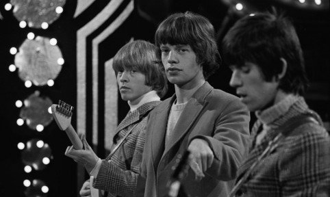 The Rolling Stones c.1963, ©David Farrell, Courtesy of Osborne Samuel