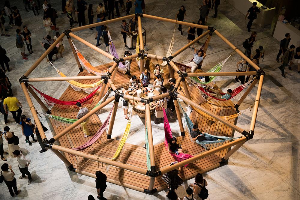 OPAVIVARÁ! 'Formasa Decelerator' 2014. Courtesy Taipei Fine Arts Museum