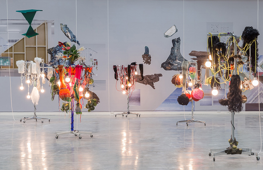 Haegue Yang, 'Female Natives + Medicine Men', light sculptures installation 2010. Collection of National Museum of Contemporary Art, Korea and Zabludowicz Collection. Courtesy Taipei Fine Arts Museum