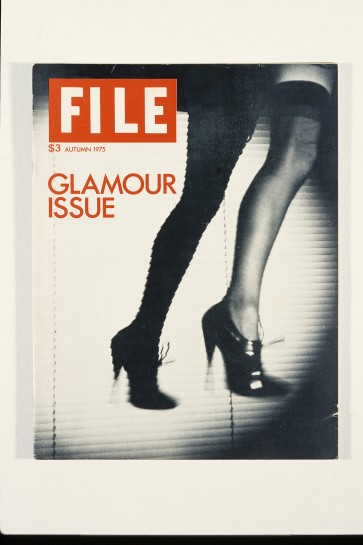 General Idea. FILE Megazine, The Glamour Issue, Autumn 1975. Image courtesy AA Bronson