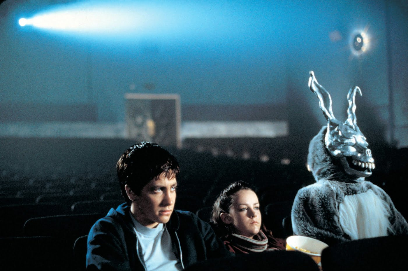Donnie-Darko1HERO MAGAZINE WEEKEND COMBO HALLOWEEN EXCORSIST MUSIC EAT LONDON DEATH JAKE GYLENHALL DONNIE DARKO ART HOGARTH