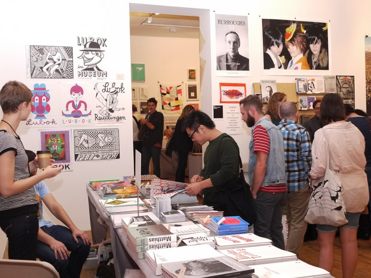 NY Art Book Fair 2011. Image courtesy Printed Matter