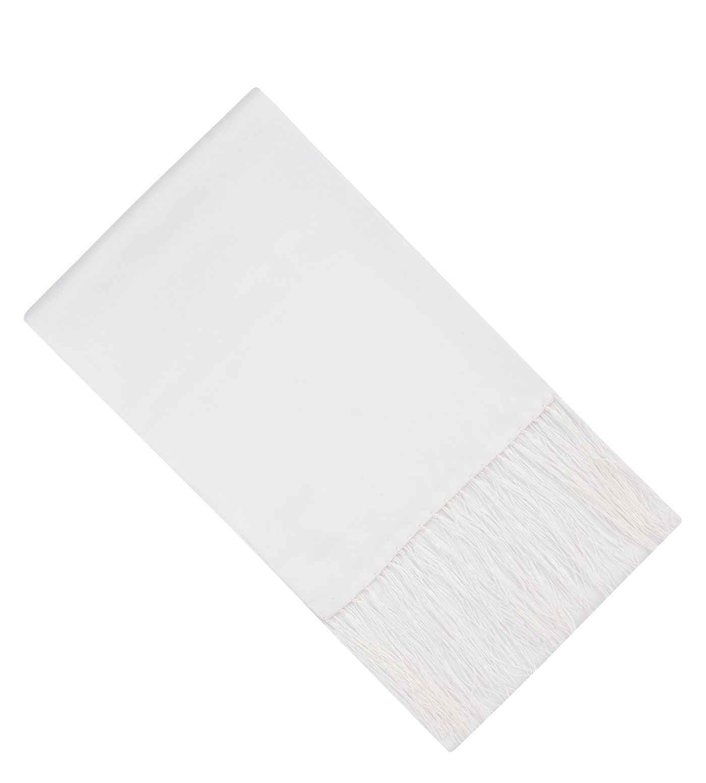 HERO CONSUME TM LEWIN WHITE SILK EVENING SCARF