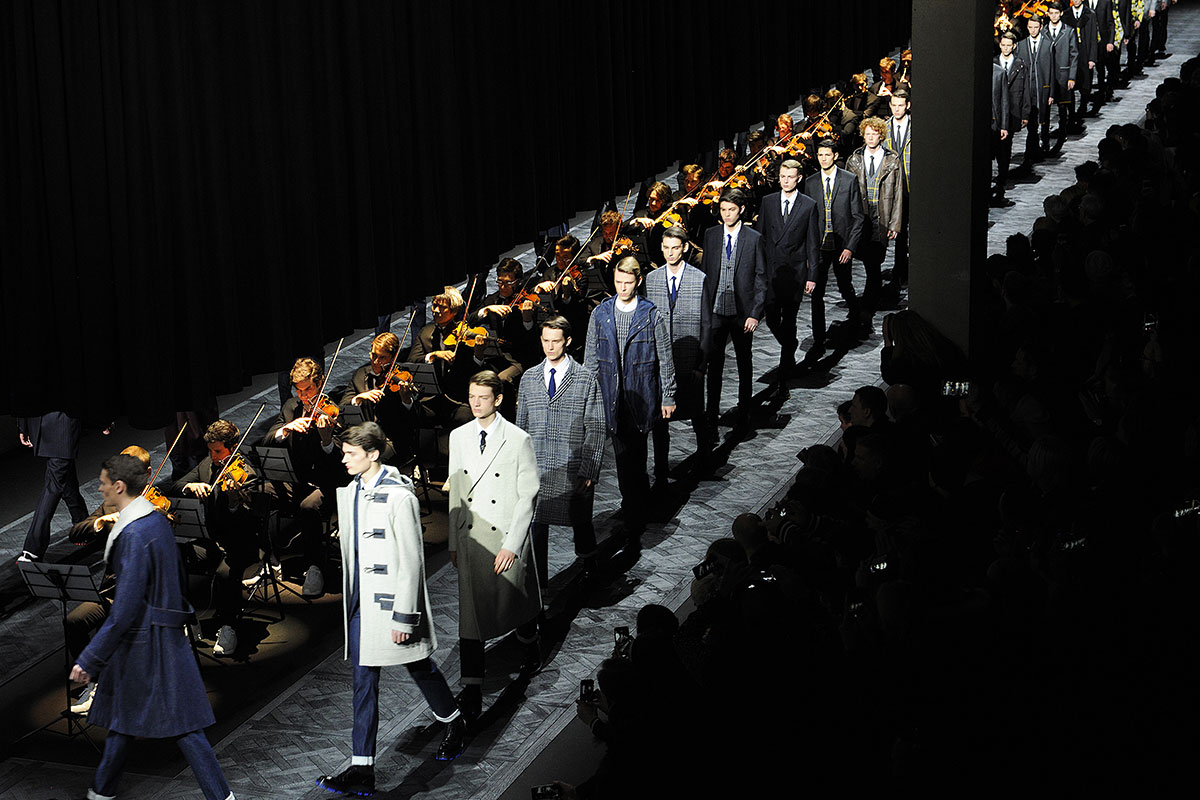 Dior Homme FW15 finale. Photography Adrien Dirand