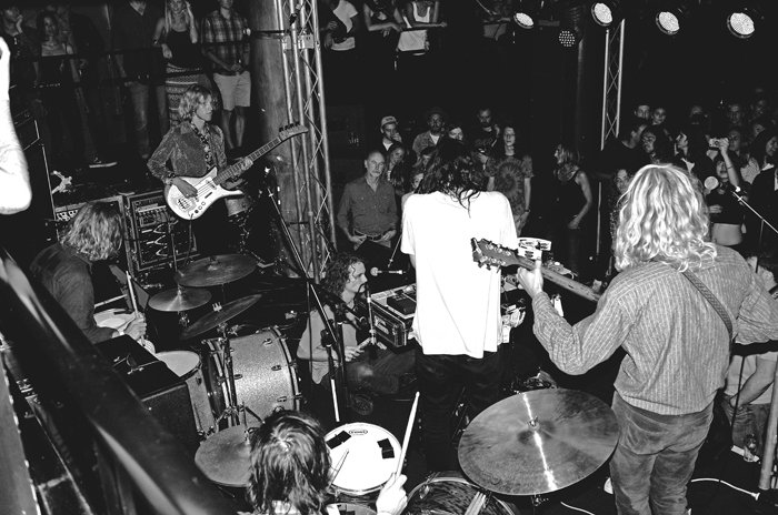 King Gizzard and the Lizard Wizard, photo by Jamie Wdziekonski