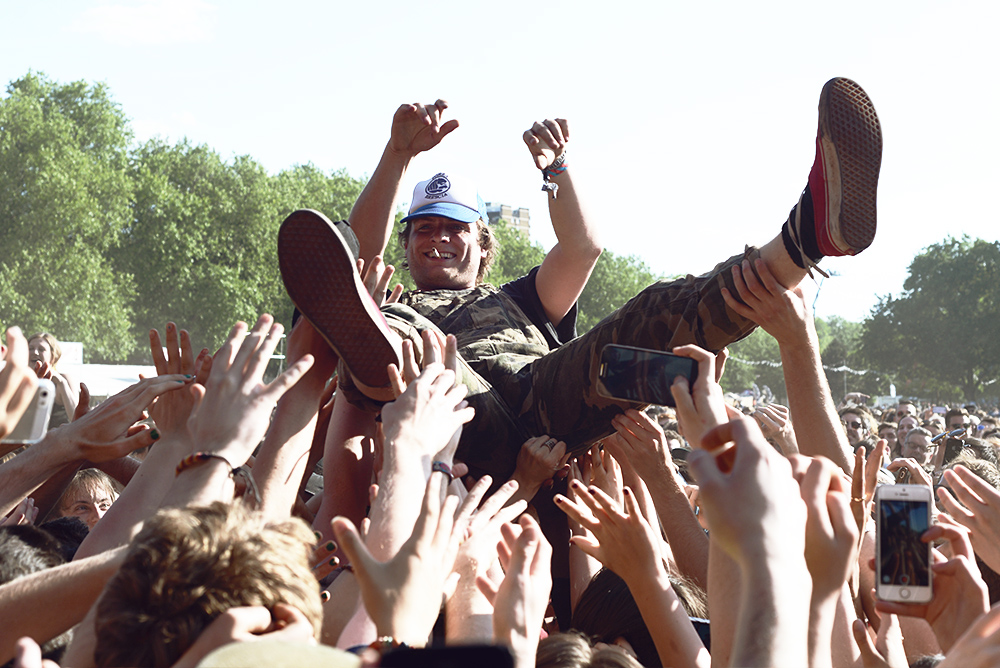 Mac DeMarco at Field Day. 2015 photo by Sean Carpenter