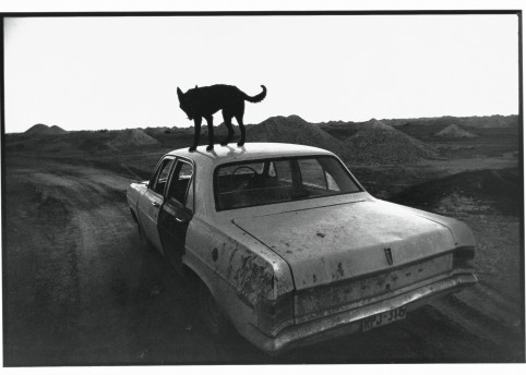 Wim Wenders, Dusk in Coober Pedy, 1978, Image courtesy the artist and BlainSouthern