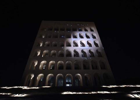 Fendi Palazzo della Civiltà Italiana. Image courtesy of Fendi
