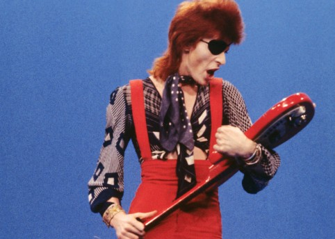 David Bowie: Photo by Gijsbert Hanekroot/Redferns