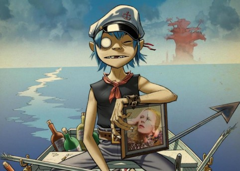Courtesy of Jamie Hewlett/Gorillaz