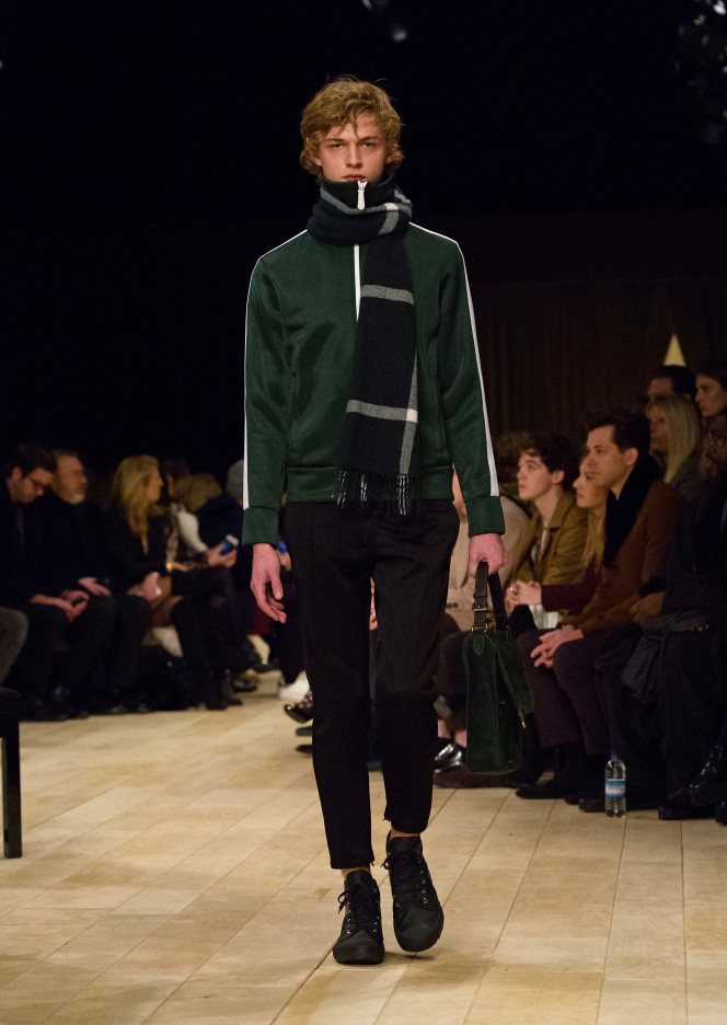 Burberry Menswear January 2016 Collection - Look 3