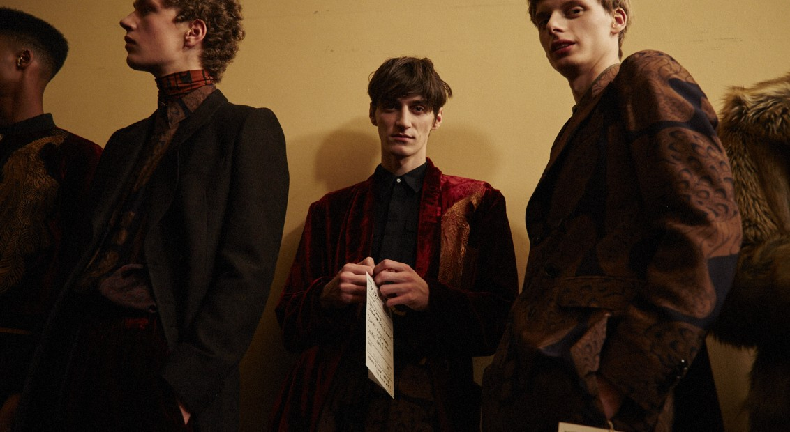 Dries Van Noten FW16 backstage. Photography Raffaele Cariou