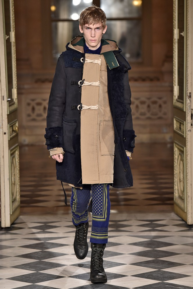Sacai Paris Menswear Fall Winter 2016 January 2016