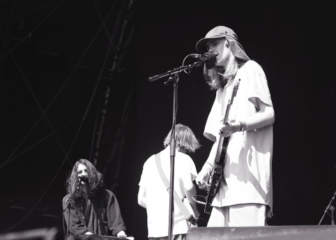 DIIV at Field Day. 2015 photo by Sean Carpenter
