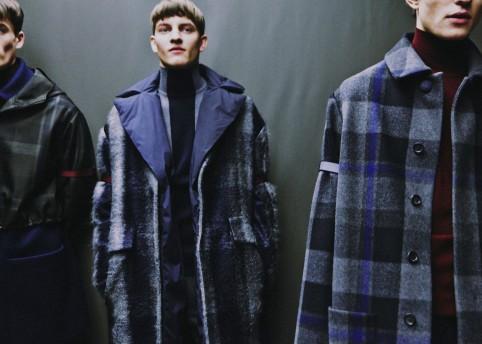 Ermenegildo Zegna FW14. Photography: Harry Carr