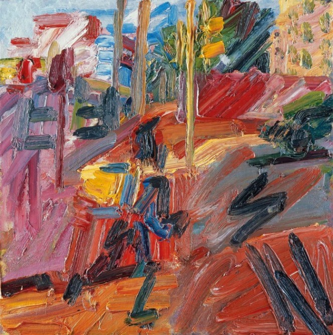 Frank Auerbach Hampstead Road, High Summer 2010 Private collection © Frank Auerbach, courtesy Marlborough Fine Art Photo- Prudence Cuming Associates Ltd.
