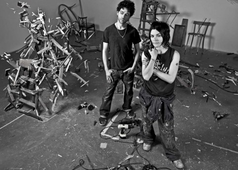 Tim Noble and Sue Webster, Courtesy the artists and BlainSouthern