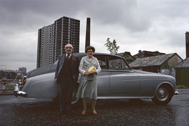 Glasgow, 1980 by French photographer and documentary maker Raymond Depardon