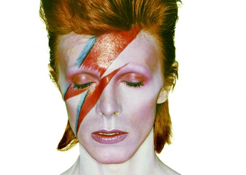 Aladdin Sane. Photo by Brian Duffy