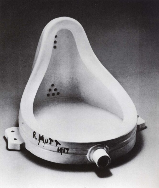 Marcel Duchamp, Fountain 1917
